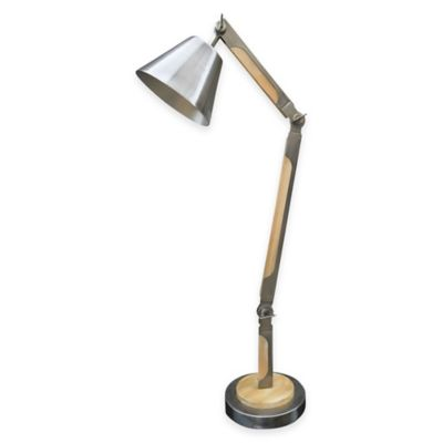 Ren-Wil Asgard Desk Lamp in Antique Silver