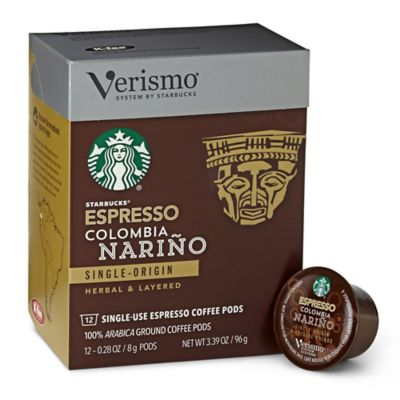 Starbucks® Verismo™ 12-Count Colombia Nariño Single Origin Espresso Pods