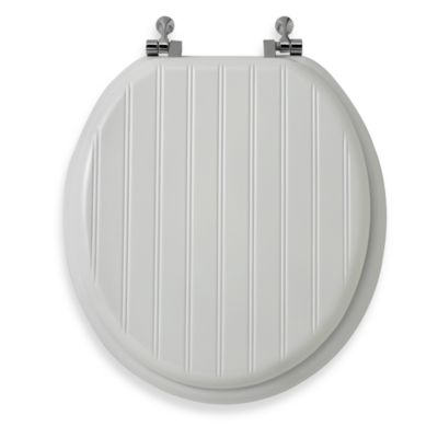 Bead Board Toilet Seat