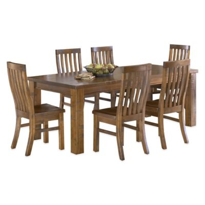 Hillsdale Outback 7-Piece Dining Set in Chestnut