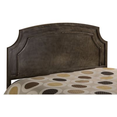 Hillsdale Riviera Queen Headboard with Rails in Old World Bronze