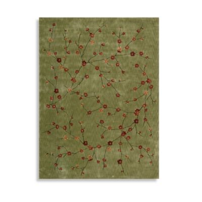 Nourison Chambord Rug in Green
