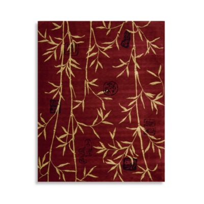 Nourison Chambord Rug in Red