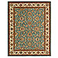 Living Treasures Room Size Rug in Aqua