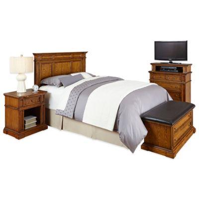 White/Oak Bedroom Sets
