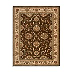 Brown Living Treasures Room Size Rug