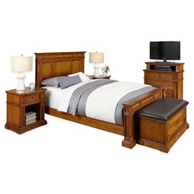 Americana 5-Piece Queen Bedroom Set in Oak