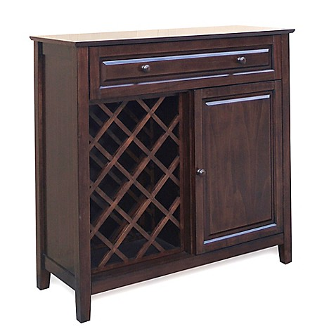 Cambridge Wine Bar in Chocolate Brown - BedBathandBeyond.com