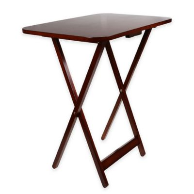 Miseo Oversize Tray Table in Walnut
