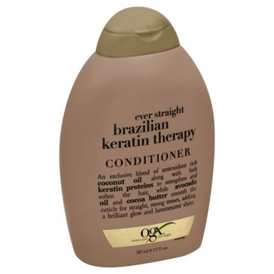 OGX® 13 oz. Ever Straight Brazilian Keratin Therapy Conditioner