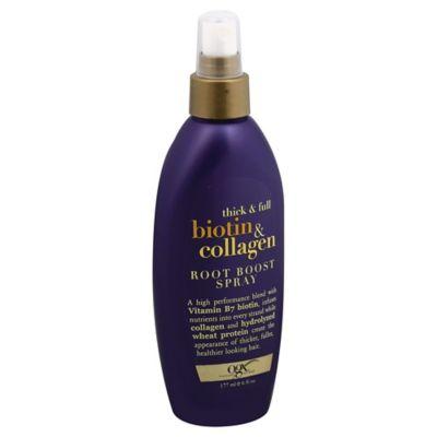 OGX® 6 oz. Thick & Full Biotin & Collagen Root Boost Spray