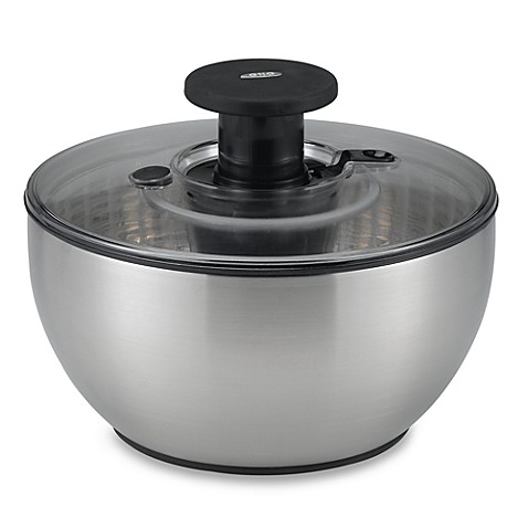 Oxo Good Grips® Mini Steel Salad Spinner