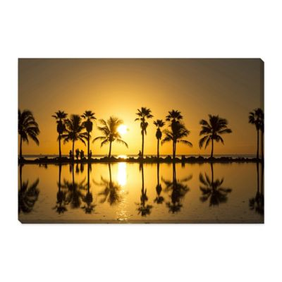 Miami Large Photographed Canvas Art