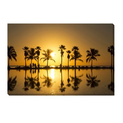 Sunrise in Miami Extra-Large Photographed Canvas Art