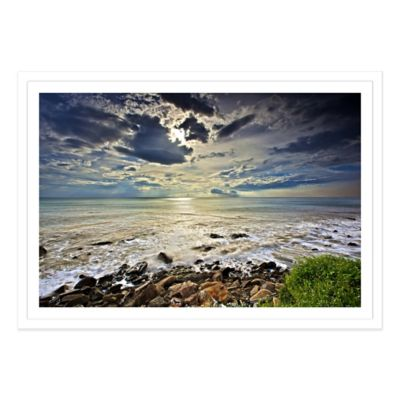 Cloudy Sky Large Photographed Framed Print Wall Art