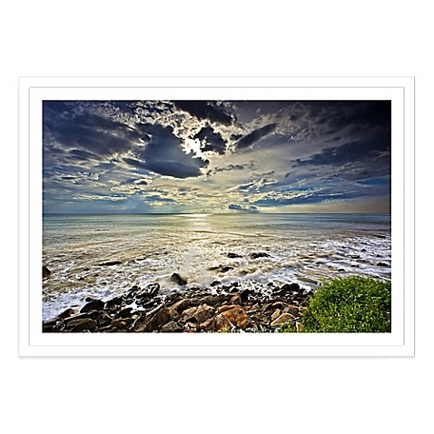 buy cloudy sky extra large photographed framed print wall. Black Bedroom Furniture Sets. Home Design Ideas