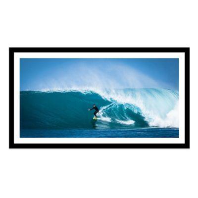 Surf Break Large Photographed Framed Print Wall Art