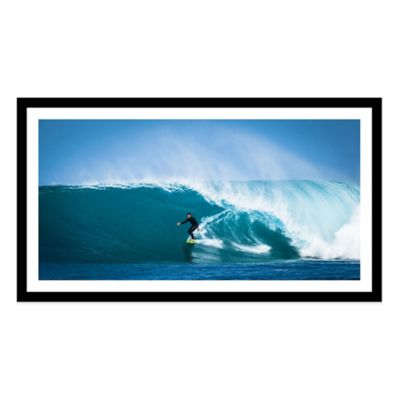 Surf Break Extra-Large Photographed Framed Print Wall Art
