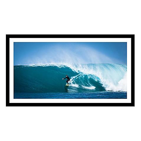 surf break extra large photographed framed print wall art. Black Bedroom Furniture Sets. Home Design Ideas