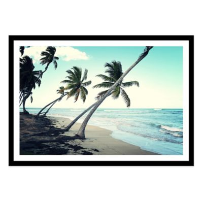 Dominican Republic, Las Terrenas Large Photographed Framed Print Wall Art