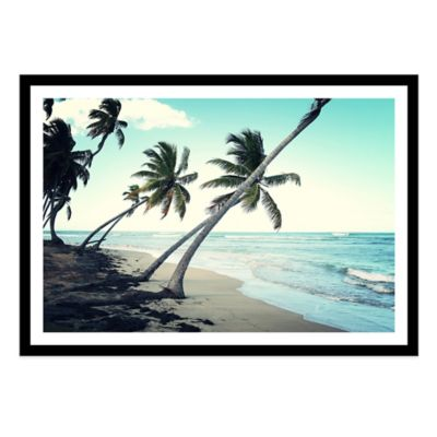 Dominican Republic, Las Terrenas Extra-Large Photographed Framed Print Wall Art