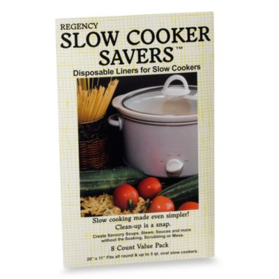 Slow Cooker Liner in Package of 8