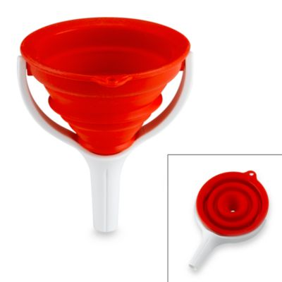 Dexas® Collapsible Red Funnel