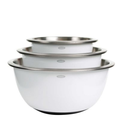 OXO Good Grips® Stainless Steel Mixing Bowls (Set of 3)