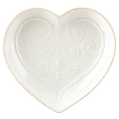 Lenox® French Perle White Heart Dish