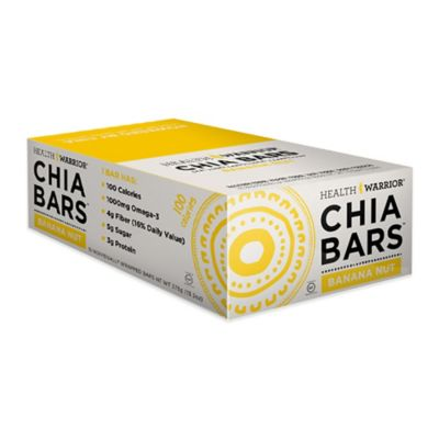Health Warrior® Chia Bars™ 15-Count 0.88 oz. Banana Nut Chia Bar
