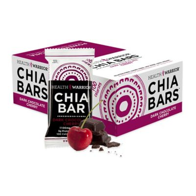 Health Warrior® Chia Bars™ 15-Count 0.88 oz. Dark Chocolate Chia Bar