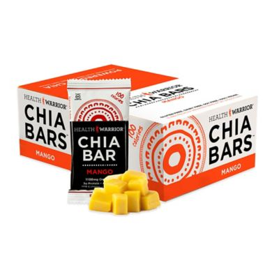 Health Warrior® Chia Bars™ 15-Count 0.88 oz. Mango Chia Bar