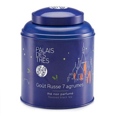 Palais Des Thés Gout Russe 7 Agrumes Flavored Black Tea Canister