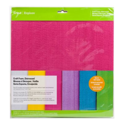 Cricut® Distressed Craft Foam Sheets (Set of 6)