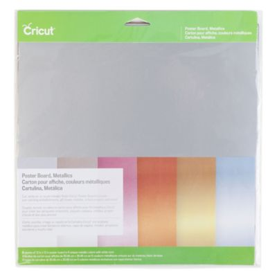 Cricut® Metallic Poster Board Sheets (Set of 6)