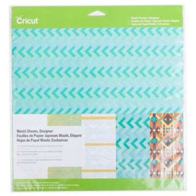 Cricut® Designer Washi Sheets (Set of 5)