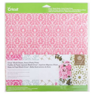 Cricut® Anna's Pretty Prints Washi Sheets (Set of 5)
