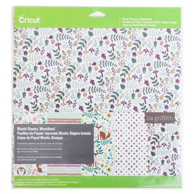 Cricut® Woodland Washi Sheets (Set of 5)