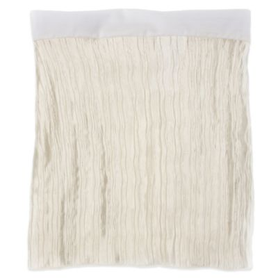 Glenna Jean Lil Princess Twin Bed Skirt in Creamy Crinkle