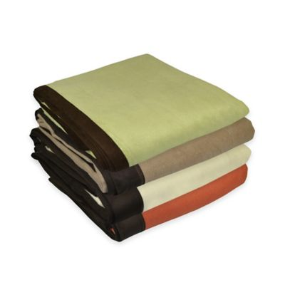 PUR Cashmere Velvet Hampton Throw in Beige