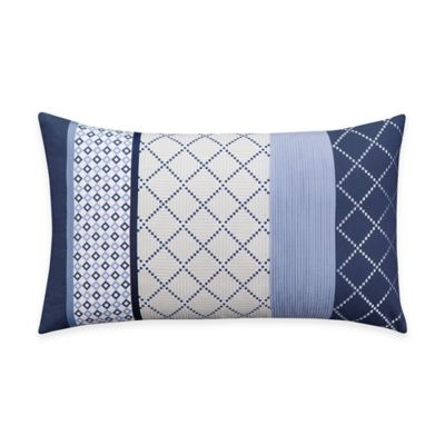 Bridge Street Concord Pieced Oblong Throw Pillow