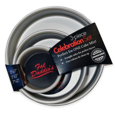 Fat Daddio's ProSeries Cake Pans (Set of 3)