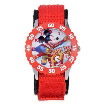 Children's 32mm Time Teacher Watch in Red