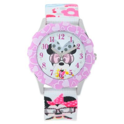 Stainless Steel With Nylon Strap Childrens Watches