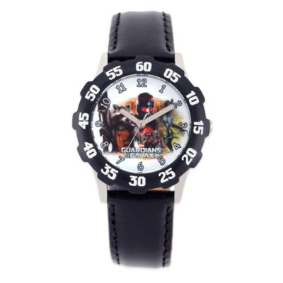 Marvel 32mm Guardians of the Galaxy Wrist Watch in Stainless Steel with Black Strap