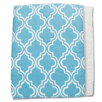 Lambs & Ivy® Mix & Match Ryan Reversible Coverlet
