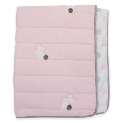 Lambs & Ivy® Mix & Match Bunny Reversible Coverlet