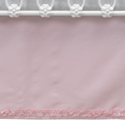 Lambs & Ivy® Mix & Match Bunny Crib Skirt in Pink