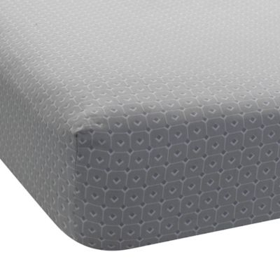 Lambs & Ivy® Mix & Match Jensen Geo Print Fitted Crib Sheet in Grey