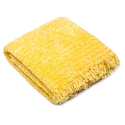 Pashmere Baby™ Chenille Crib/Stroller Blanket in Yellow